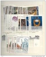 1991 MNH Vaticano, Vatikanstaat, Year Collection, Postfris** - Annate Complete