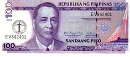 Philippines P.199  100 Piso 2008 Unc - Filippine