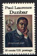 STATI UNITI - 1975 - PAUL LAWRENCE DUNBAR - POETA NERO AMERICANO - MNH - Stati Uniti
