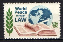 STATI UNITI - 1975 - CONGRESSO DEI GIURISTI A WASHINGTON - MNH - Nuovi