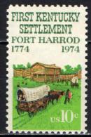 STATI UNITI - 1974 - 200° ANNIVERSARIO DEL POPOLAMENTO DEL KENTUCKY - MNH - Stati Uniti