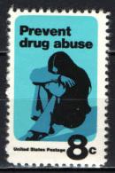 STATI UNITI - 1971 - LOTTA CONTRO L'ABUSO DELLA DROGA - MNH - Stati Uniti