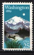 STATI UNITI - 1989 - MONTE RAINER E LAGO MIRROR - MNH - Vereinigte Staaten