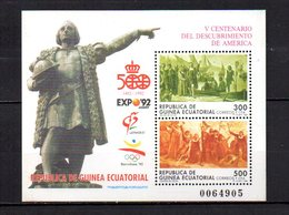 Guinea Ecuatorial  1992  .-   Y&T  Nº    3   Block - Equatorial Guinea