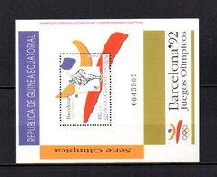 Guinea Ecuatorial  1992  .-   Y&T  Nº    4   Block - Equatorial Guinea