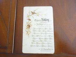 CARTON PRIX EXCELLENCE 1ER PRIX 20 RECOMPENCES VERS 1900 MANUSCRIT - Diploma & School Reports