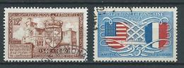 FRANCE 1949 . N°s 839 Et 840 . Oblitérés. - France