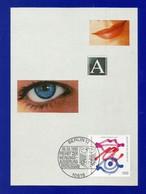 BRD 1995  Mi.Nr.1789 , EUROPA Grundgedanken Der Demokratie - Hagenbach Maximum Karte - Ersttagsstempel Berlin 06.04.1995 - Europa-CEPT