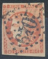 N°48d ROUGE SANG CLAIR SIGNE BRUN. - 1870 Bordeaux Printing
