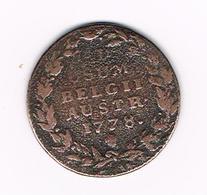 &  2  OORD ( LIARD ) MARIA  THERESA 1778 - Belgique
