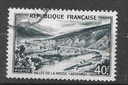 N° 842 A  FRANCE  - OBLITERE  -   VALLEE DE LA MEUSE -  1949 - Usados