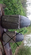 Mod.1863 8pf. Hohlgeschoss  GRENADE Projektil Obus Spoletta Fusee Neutralisé - 1914-18