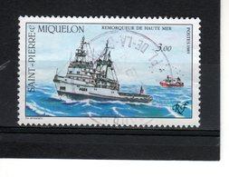 St Pierre & Miquelon--N° 510--Remorqueur - St.Pierre & Miquelon