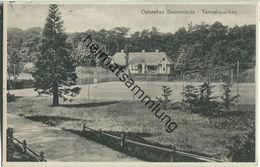 Swinoujscie - Swinemünde - Tennishäuschen - Verlag R. Block Swinemünde - Pommern