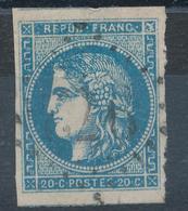 N°45 DEUX VOISINS VARIETE FLEURON ET FILETS. - 1870 Emissione Di Bordeaux