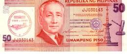 Philippines P.191a  50 Piso 1999 Unc - Filippine