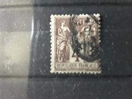 Type SAGE , Yvert N° 88 ,  4 C , Obl Cachet BM BOITE MOBILE  ,TB - 1876-1898 Sage (Type II)