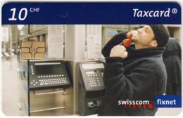SWITZERLAND B-945 Chip Swisscom - Communication, Phone Booth - Used - Switzerland