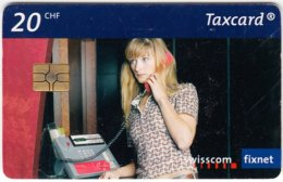 SWITZERLAND B-946 Chip Swisscom - Communication, Phone Booth - Used - Switzerland