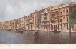 AM34 Venezia, Canal Grande Con Ga D'Ora - Undivided Back, Artistic - Venezia (Venice)