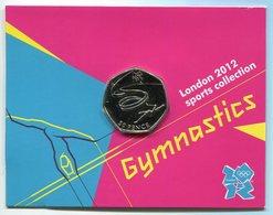 RC 8629 GB 50 PENCE LONDON 2012 SPORTS COLLECTIONS GYMNASTICS - 1971-… : Monnaies Décimales