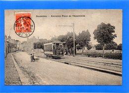 76 SEINE MARITIME - CAUDEBEC LES ELBEUF Ancienne Place De L'Assemblée, Tramway - Caudebec-lès-Elbeuf