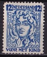 1928 Kinderzegels Hoogste Waarde 12½ + 3½ Cent Blauw Lijntanding 12 NVPH 223 A Postfris - Periode 1891-1948 (Wilhelmina)