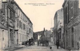¤¤   -  FONTENAY-le-COMTE    -   Rue Blossac  -  L'Hôtel De France   -   ¤¤ - Fontenay Le Comte