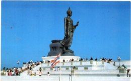 The Image Of Buddha At The Buddha Precinct Nakornphathom Province, Thailand - Small Format - Tailandia