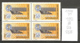 Gabon, Année 1966, OMS, Bloc De 3 - Gabon