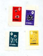 Serie Timbre Ile Stroma Europa 1965  Fleur - Emissions Locales