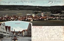 92334 Berching – Panorama, Markt, AK, Bayern - Zonder Classificatie