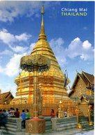 Phra That Doi Suthep Is Landmark's Chang Mai - Thailand - Tailandia