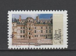 """FRANCE / 2015 / Y&T N° AA 1119 : """"Architecture Renaissance"""" (Blois) - Choisi - Cachet Rond - France"""
