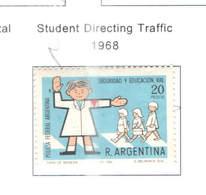 Argentina PO 1968 Studente Al Traffico Scott..860  See Scan On Scott.Page - Unused Stamps