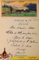 MENU LUNCH Du 8 Avril 1938 - Pub BENEDICTINE - TBE - Menus