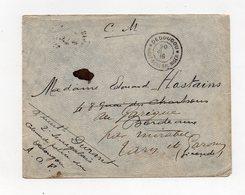 !!! PRIX FIXE : HAUT SENEGAL ET NIGER, LETTRE EN FRANCHISE DE 1916 POUR BORDEAUX, CACHET DE DEDOUGOU - Covers & Documents