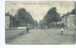 Mons Avenue De Jemappes Passage à Niveau ( Etat Voir Scans !! )) - Mons