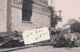 ARPAJON ( 91 )  - Ets Maurice MOREL ( Photo 15,5 Cm X 10 Cm ) - Reproductions