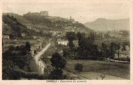 84Vx   Italie Canelli Panorama Da Ponente - Italy
