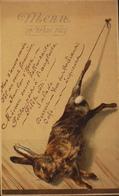 MENU Du 14 Mai 1889 - TBE - Menus