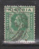 NIGERIA Scott # 18 Used - KGV Definitive - Nigeria (...-1960)
