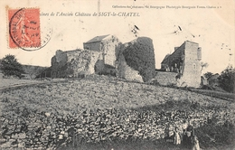 Sigy Le Châtel Château Canton Saint Gengoux Le National - France