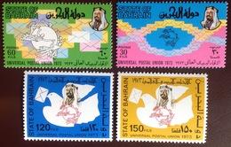 Bahrain 1974 UPU Centenary Set MNH - Bahrain (1965-...)