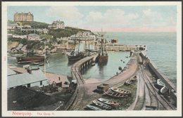 The Quay, Newquay, Cornwall, C.1905-10 - Peacock Postcard - Newquay