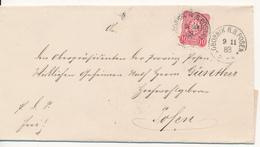 GORNIK / Posen - 1883 , Brief Nach Posen - Lettres & Documents