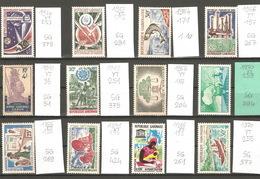 Gabon, Année 1964 à 71, Lot Divers - Gabon