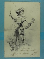 Femme Illustration (Bottaro) - Bottaro
