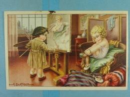 Enfant Peintre (Bertiglia) - Bertiglia, A.