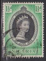 NIGERIA Scott # 79 Used - QEII Coronation - Nigeria (...-1960)